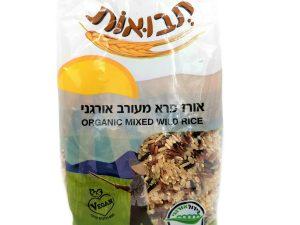 תבואות אורז פרא מעורב אורגני 500 גרם