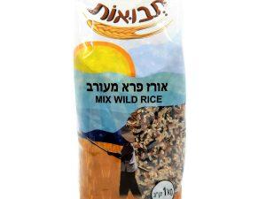 תבואות אורז פרא מעורב קילו