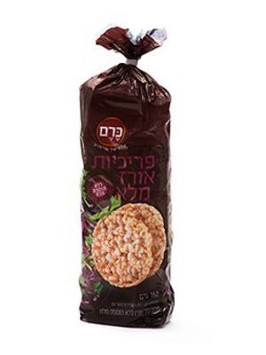 פריכיות אורז ללא מלח Edit300 400 Kenny.A